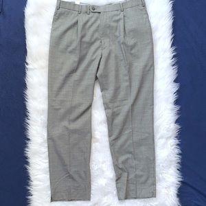 Hart Schaffner Marx Men's Plaid Dress Pants 38